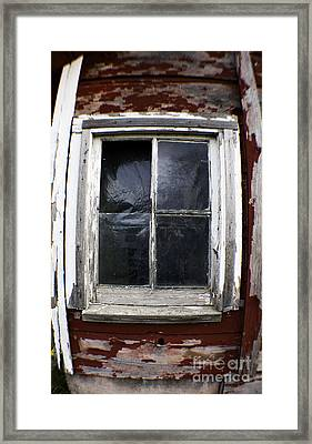 Reflecting On Country Living Framed Print by Clayton Bruster