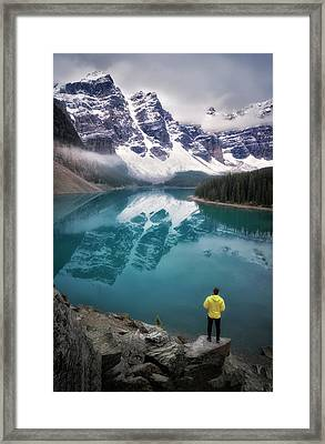 Reflecting On Reflections Framed Print