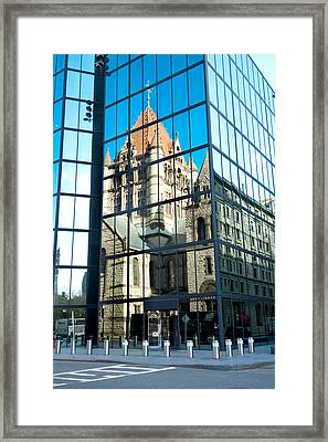 Reflecting On Religion Framed Print