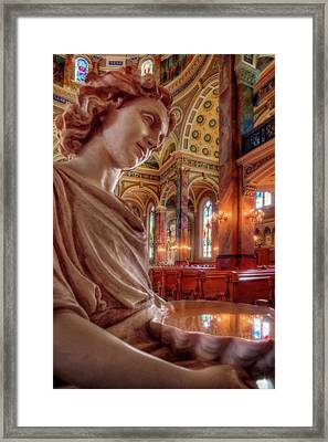 Reflecting On That Which Is Holy Framed Print by Peter Herman
