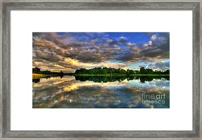 Reflecting On The Past Framed Print by Kim Shatwell-Irishphotographer