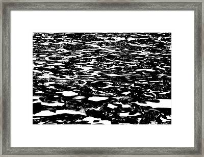 Reflecting Patterns Framed Print