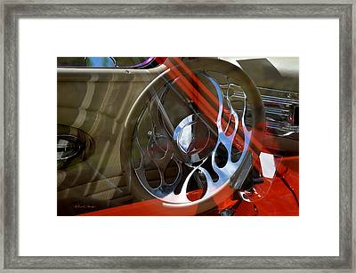 Framed Print featuring the photograph Reflecting Reflections by Kae Cheatham