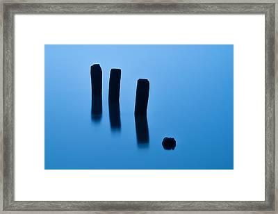 Reflecting Serenity - I Framed Print