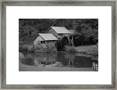 Reflecting The Mill Framed Print
