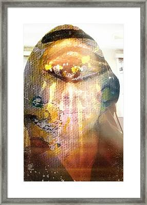 Reflecting Within Framed Print by Michael African Visions