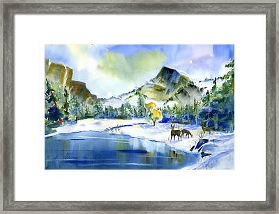 Reflecting Yosemite Framed Print