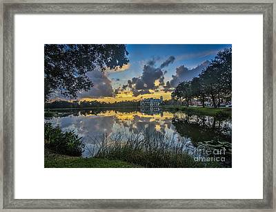 Reflection 5 Framed Print by Mina Isaac