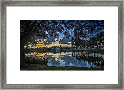 Reflection 6 Framed Print by Mina Isaac