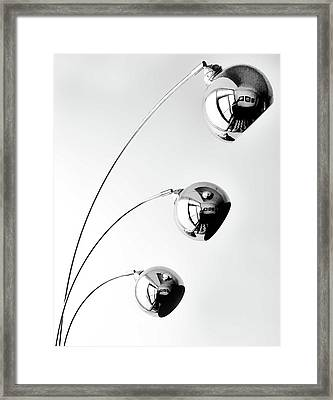 Reflection And Refraction 2 Framed Print