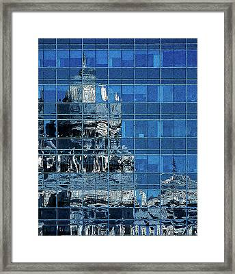 Reflection And Refraction Framed Print