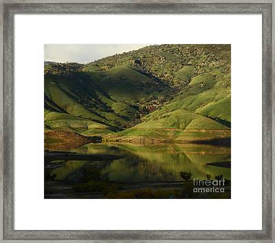 Reflection And Shadows Framed Print by Debby Pueschel