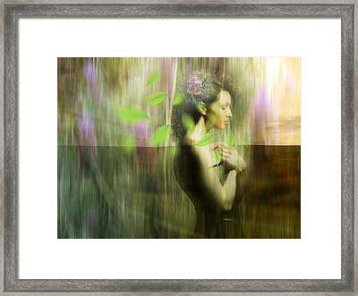 Reflection Framed Print by Andre Pillay