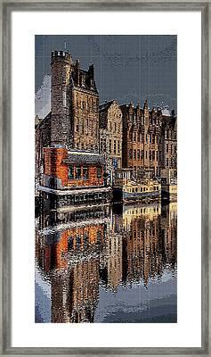 Reflection Bay Framed Print by Jacquin