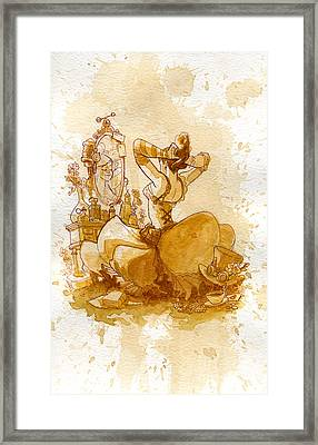 Reflection Framed Print by Brian Kesinger