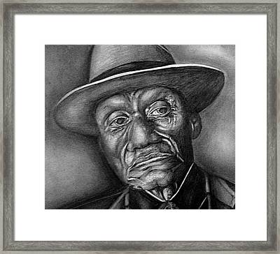 Reflection Framed Print by Carey Davis