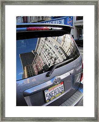 Reflection Framed Print by Douglas Pike