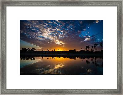 Reflection Framed Print by ElizabethAnn Linder