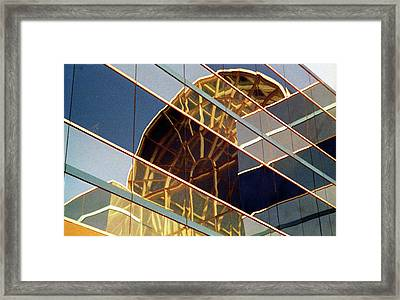 Framed Print featuring the photograph Reflection by John Schneider