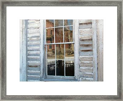 Reflection Framed Print by Krista Carofano
