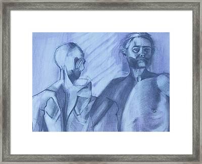 Sinew Framed Print