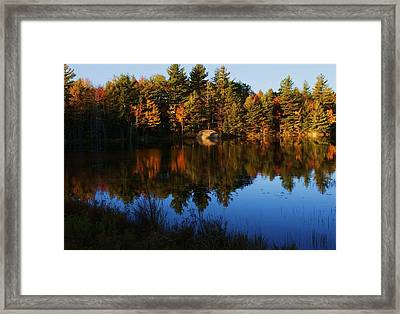 Reflection Framed Print by Lois Lepisto