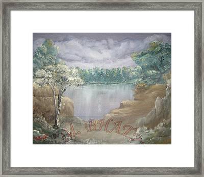Reflection Framed Print by M Bhatt