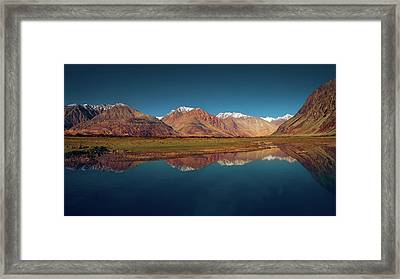 Reflection Framed Print by Marji Lang