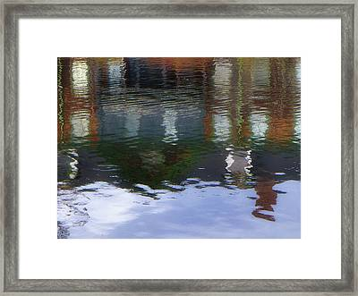 Reflection, No. 1 In Connetquot State Park Framed Print