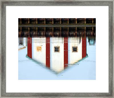 Framed Print featuring the photograph Reflection No 1 by JoAnn Lense