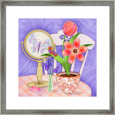 Reflection Of A Promise Framed Print