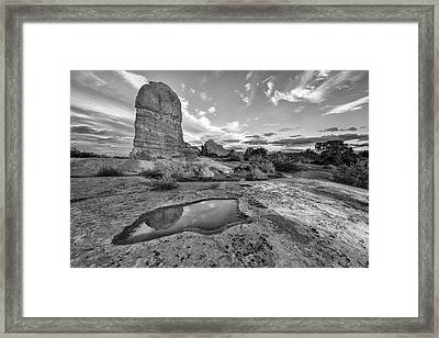 Reflection Of Arches II Framed Print