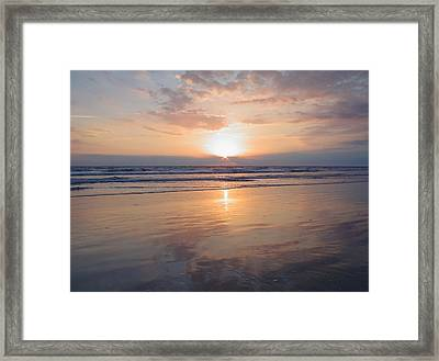 Reflection Of Hope  Framed Print