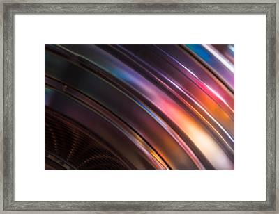 Reflection Of Socks Framed Print