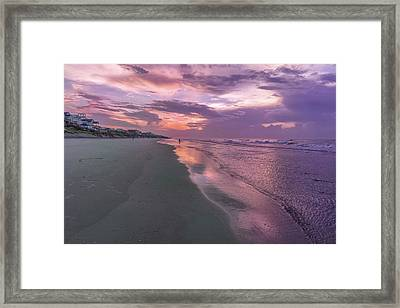 Reflection Of The Dawn Framed Print