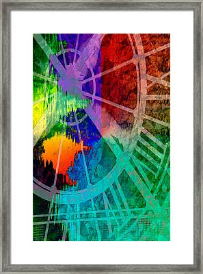 Reflection Of Time Framed Print