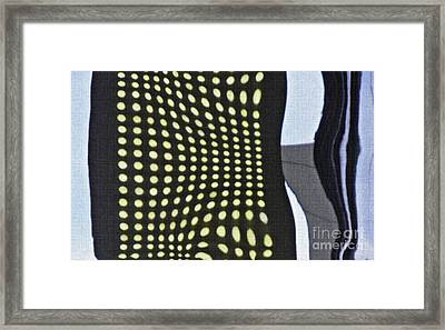 Framed Print featuring the photograph Reflection On 42nd Street 2 by Sarah Loft