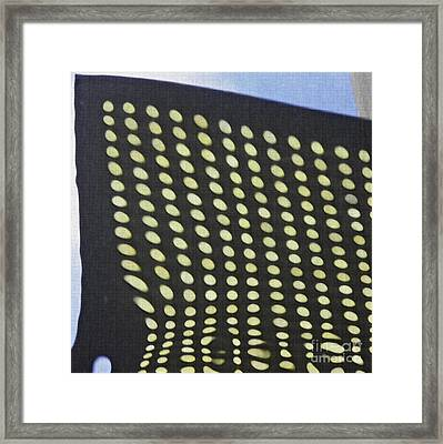 Framed Print featuring the photograph Reflection On 42nd Street 3 by Sarah Loft