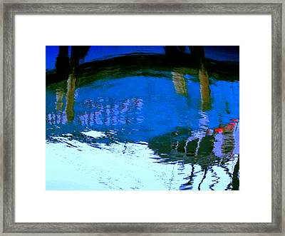 Reflections Framed Print by Rick Maxwell