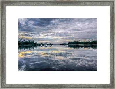 Framed Print featuring the photograph Reflection by Rob Sellers