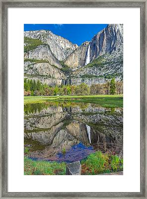 Framed Print featuring the photograph Reflection  by Scott McGuire