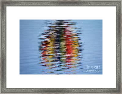 Reflection Framed Print by Steve Stuller