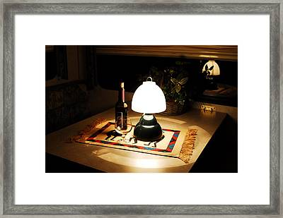 Reflection Time Framed Print