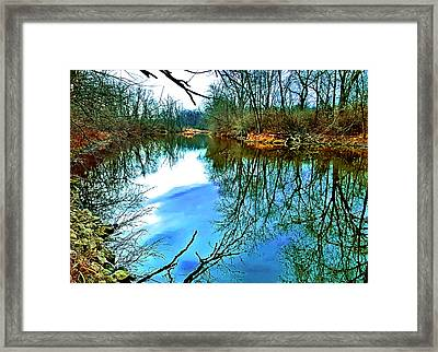 Reflections 5 Framed Print by James Stoshak
