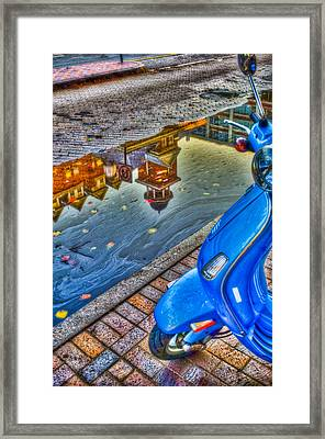 Reflections Framed Print by Andrew Kubica