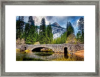 Reflections Framed Print by Aron Kearney