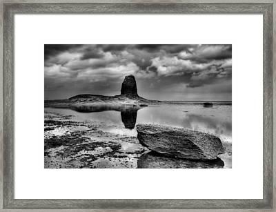 Reflections At Black Nab Framed Print