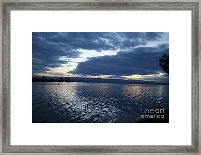 Reflections At Buena Vista Framed Print by Don Robson
