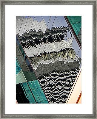 Reflections At Niagara Framed Print