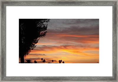 Reflections At The Close Of Day Framed Print by Glenn McCarthy Art and Photography